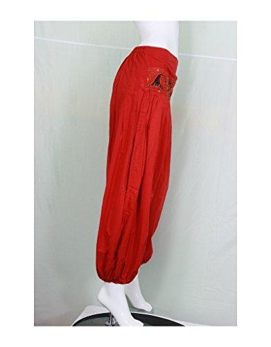 Aller Simplement - Pantalón - para mujer Rojo