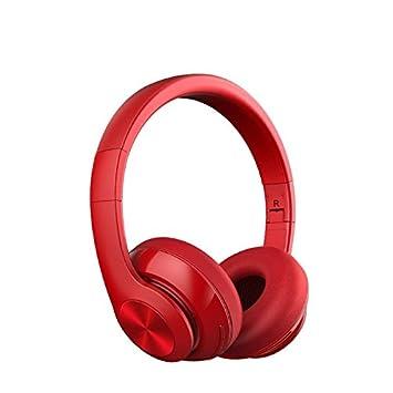 BLUEHUAF Diadema Auriculares inalámbricos Bluetooth Música Ordenador Portátil Juego Auriculares con Cable Teléfono Móvil Universal,