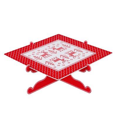 Talking Tables-Juego de bordado de punto de cruz Crimbo Soporte de presentación: Amazon.es: Hogar