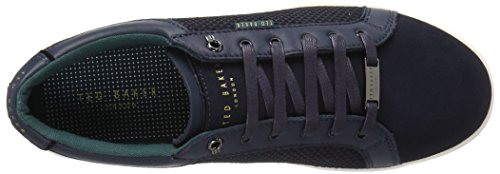 Ted Baker Mens Owenn Fashion Sneaker Navy Suede
