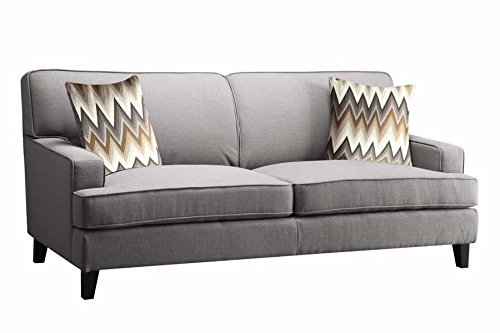 Coaster Home Furnishings 505031 Finley Collection Sofa, Cement