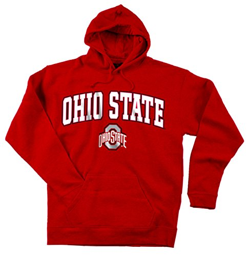 Ohio State Buckeyes Hooded Sweatshirt Scarlet - M - scarlet (Ohio State Buckeyes Pocket)