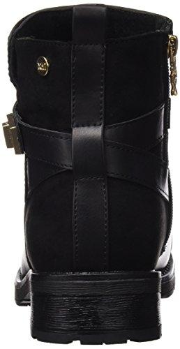 XTI Botin Sra C. Combinado Negro, Zapatos de Tacón para Mujer Negro