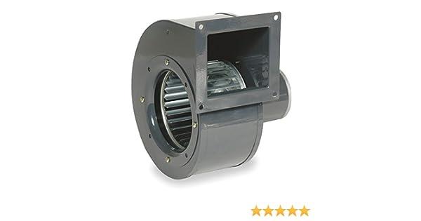 273 CFM 1640 tr//min 115 V 60//50hz 1TDR3 Ventilateur avec décharge Bride de montage