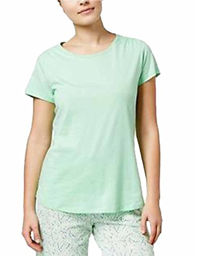 Charter Club Scoop Neck Short Sleeve Sleep Tee