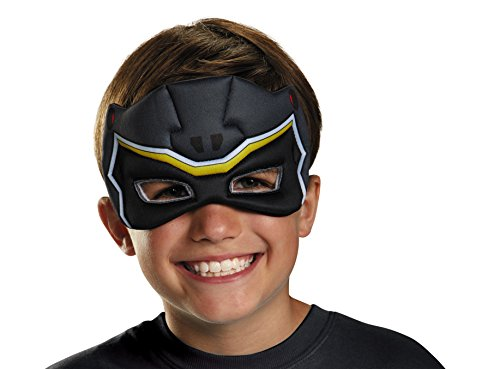 Black Ranger Dino Charge Puffy Mask]()