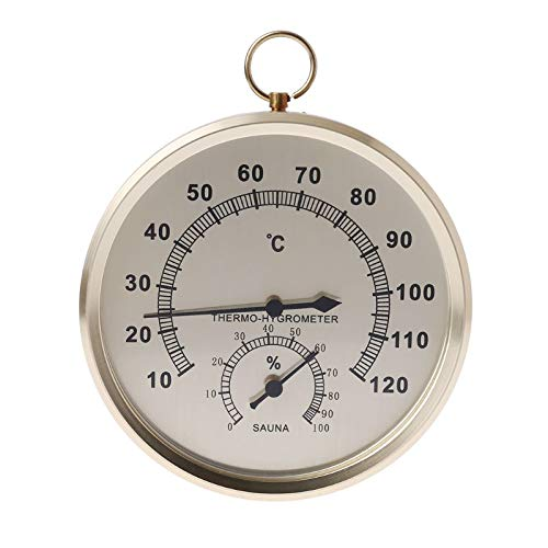 Temperature Instruments - Humidifier Thermometer Humidity Temperature Meter Indoor Hygrometer Double Dial Wall Hanging Metal - Instruments Temperature