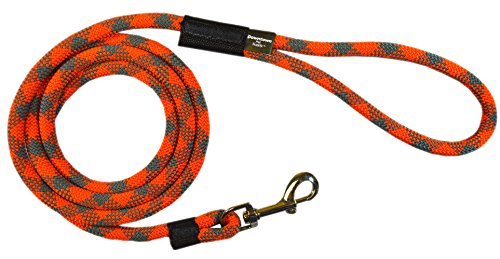 1/2 Dog Leash (Extremely Durable Dog Rope Leash, Premium Quality Mountain Climbing Dog Rope Lead, Strong, Sturdy and Comfortable Leash, Supports the Strongest Pulling Large and Medium Sized Dogs, 6-feet,)