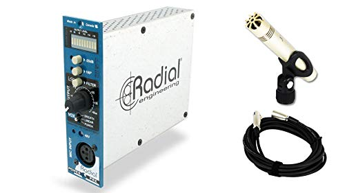 Radial Engineering PowerPre 500 bundle with JoeMeek JM27 & Cable (3 ()