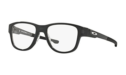 8b8cbb29aa Eyeglasses Oakley Frame OX 8094 809404 POLISHED BLACK INK at Amazon Men s  Clothing store