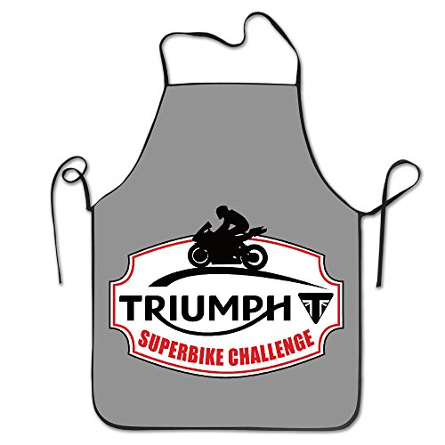 [Triumph Superbike Logo Kitchen Aprons For Women Men] (Toddler Gardener Costume)