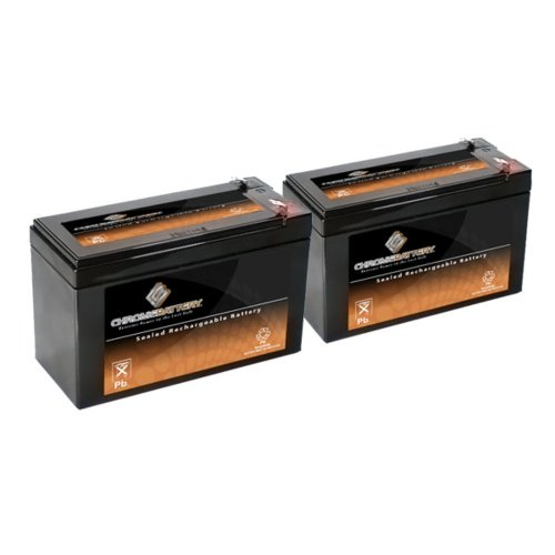 12V 9AH SLA Battery Replaces CP1290 6-DW-9 HR9-12 PS-1290F2