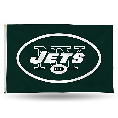 NFL New York Jets Banner Flag 3-Foot by 5-Foot
