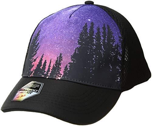 - Headsweats 5 Panel Rockies Trucker Hat, One Size, Black