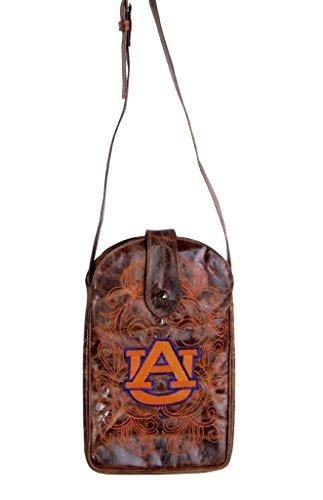 (NCAA Auburn Tigers Women's Cross Body Purse, Brass, One Size)