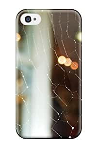 Iphone 4/4s Case Cover Skin : Premium High Quality Spider Web Case