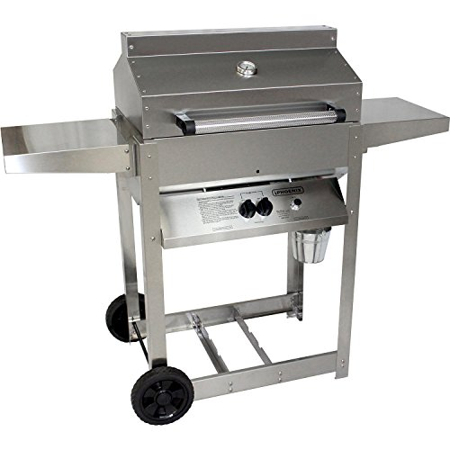 Phoenix Grill SD Stainless Steel Propane Gas Riveted Grill Head On Stainless Steel ()