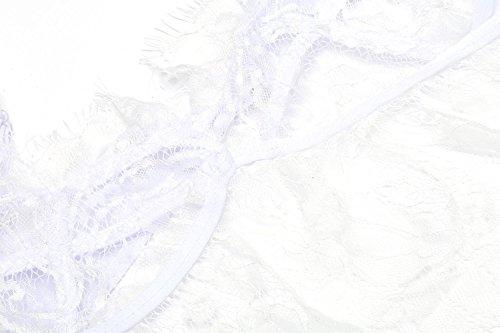 da Bianco Pairka Erotico Pizzo in S Notte XL Camicie Trasaparent Taglie Donna Sexy 7q5F4qw