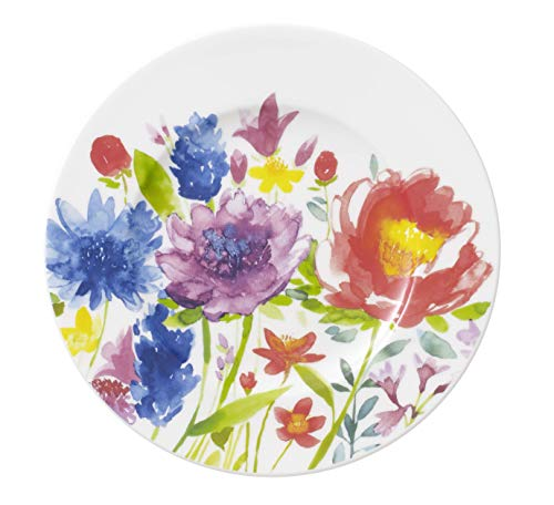 Villeroy & Boch 1-Piece 16 cm Premium Porcelain Anmut Flowers Bread and Butter Plate from Villeroy & Boch
