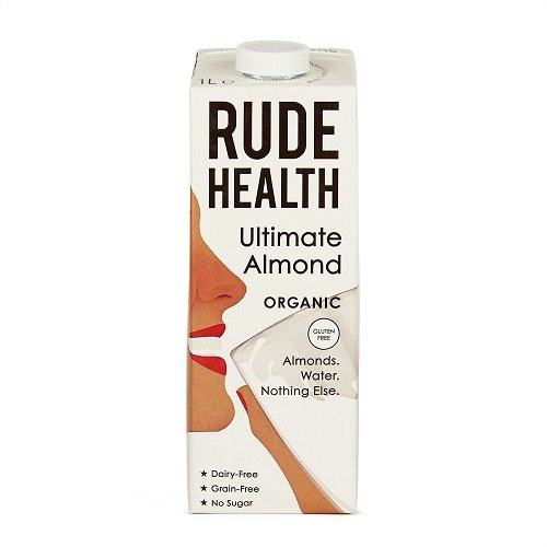Rude Health Ultimate Almond Drink 1 liter (6 Pack) by Rude Health