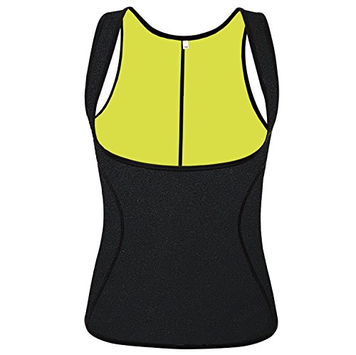 QEESMEI Waist Trainer Corset Vest for Weight Lo...
