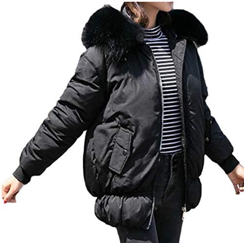 Black Down Short Jackets Winter EKU Hooded Women's Coats Puffer pUAZ88