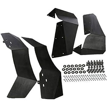 Amazon.com: Aletas de guardabarros modelo Polaris RZR 1000 ...