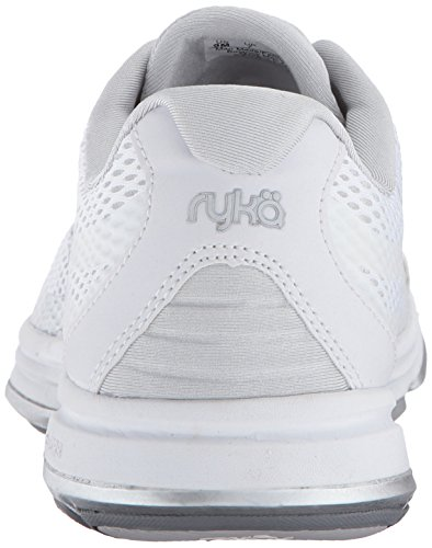 best place for sale outlet sale online Ryka Women's Devo Plus 2 Walking Shoe White/Blue clearance shop for view sale online sale extremely MJENwYo8mv