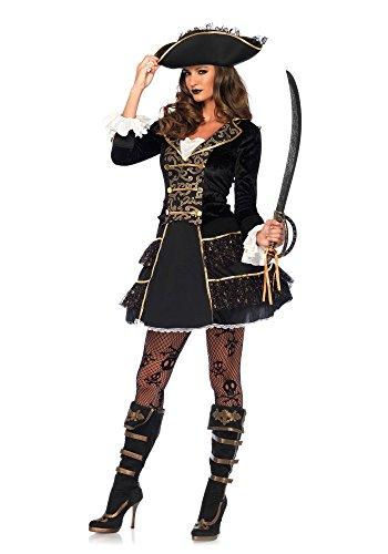 Sea Captain Costumes (High Seas Pirate Captain Adult Costume - Medium)
