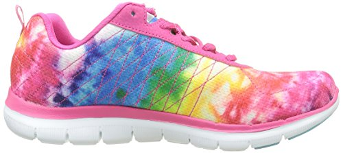 Skechers Pkmt Loud Basses Flex amp; Baskets Clear Appeal Rose 2 Femme Multicouleur Rose SrCvw6Sq