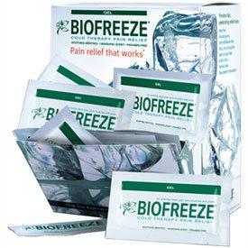 Vanishing Formula (BioFreeze174; Cold Pain Relief Gel, 5 Gram Packet, Dispenser of 100 Packets)