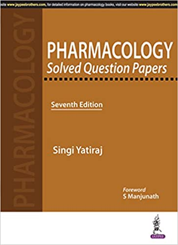 buy pharmacology solved question papers book online at low prices in