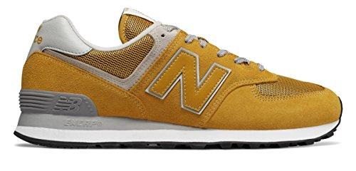 スキャンダラス横向き男らしさ(ニューバランス) New Balance 靴?シューズ メンズライフスタイル 574 Yellow イエロー US 16 (34cm)