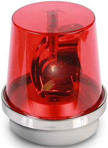 Edwards Signaling 52R-N5-40WH Rotating Halogen Beacon, 120V AC, Red, 40W, 265 Lumens