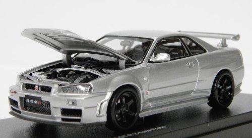 1/43 NISMO スカイライン R34 GT-R Z-tune Proto(シルバー) K03385S
