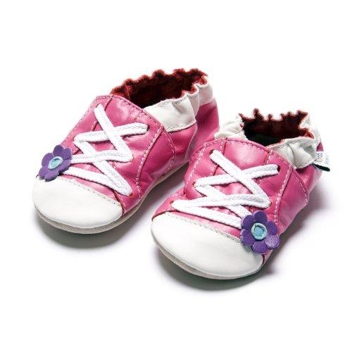Jinwood designed by amsomo - Zapatillas de estar por casa para niña Multicolor - sportive flower fuchsia soft sole