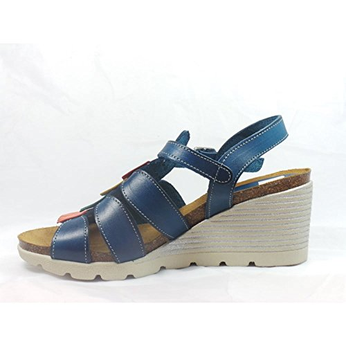 Lotus - Sandalias de vestir para mujer azul azul