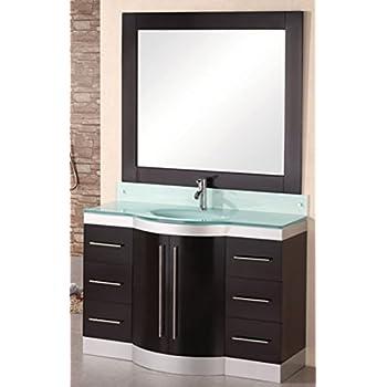 Design Element Huntington Single Drop In Sink Vanity Set