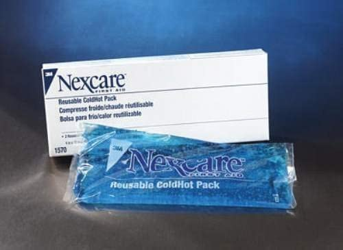 3M Nexcare 4quot; X 10quot; Reusable Cold/Hot Therapy Pack by 3M: Amazon.es: Salud y cuidado personal