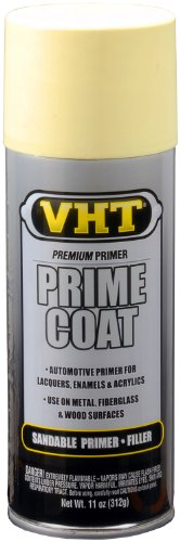 (VHT SP306 Prime Coat Yellow Zinc Chromate Sandable Primer Filler Can - 11 oz.)