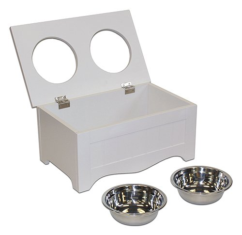 APetProject Small Pet Food Server & Storage Box (Winter White)LIMIT 1 PER ORDER