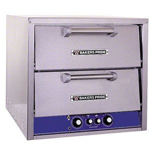 Bakers Pride P44-BL Brick Lined Electric Countertop Pizza and Pretzel Oven - 7200 Watt