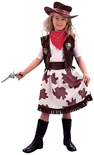 Small Cowprint Girls Cowgirl (Cowgirl Costume Party City)