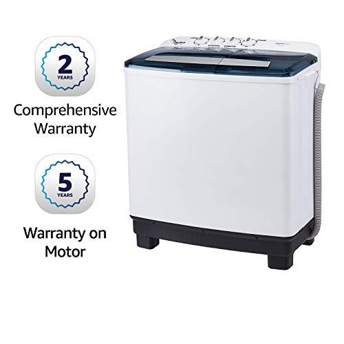 Amazonbasics 10 2 Kg Semi-Automatic Washing Machine