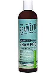The Seaweed Bath Co. Balancing Eucalyptus and Peppermint Argan Shampoo, 12 oz