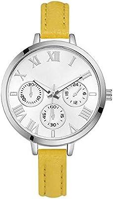 Laogg Reloj de Cuarzo Grandes Relojes para Mujer Relojes de Hora Top Marca Cuarzo  Reloj Mans 108ecec5253a