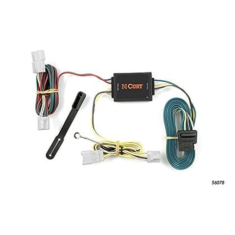 CURT 56078 Custom Wiring Harness - Standard Trailer Wiring