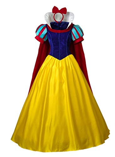(CosFantasy Princess Snow White Cosplay Costume Deluxe Ball Gown mp003881 (Women)