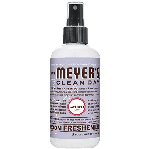 Mrs。Meyer 's部屋Freshener – ラベンダー – ケースof 6 – 8 oz B01BHF4QA6