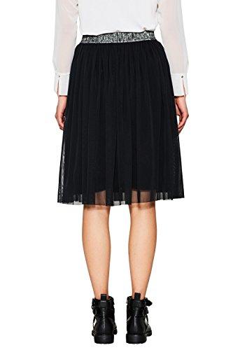edc by Esprit 087cc1d023, Falda para Mujer Negro (Black 001)